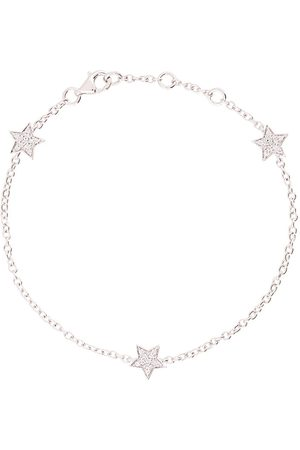 ALINKA 18kt white gold STASIA MINI Triple Star diamond bracelet