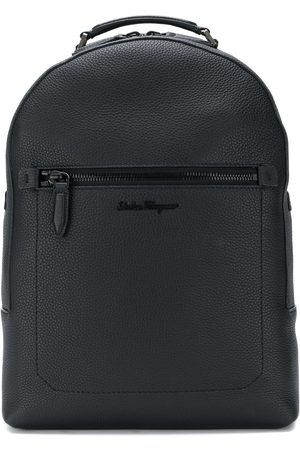 Salvatore Ferragamo Embroidered logo backpack