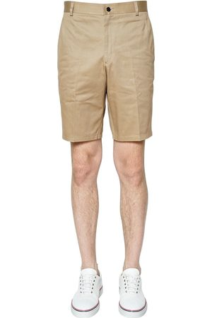 Thom Browne Light Cotton Twill Chino Shorts