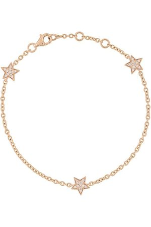 ALINKA 18kt rose gold STASIA MINI Triple Star diamond bracelet