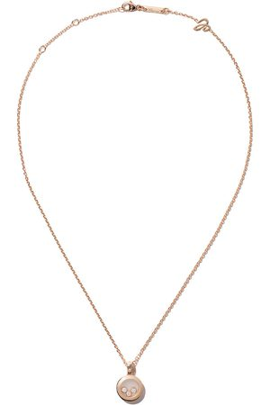 Chopard 18kt rose Happy Diamonds Icons necklace