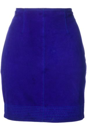 VERSACE Fitted mini skirt