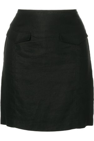 VERSACE Mini fitted skirt