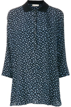 VERSACE Three-quarters sleeve floral blouse