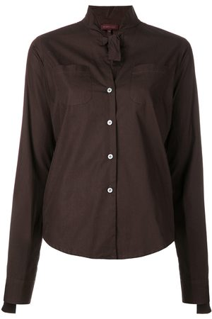 Romeo Gigli Pre-Owned Tied detailing shirt
