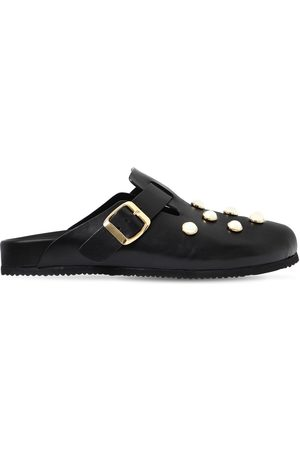 COLIAC 20mm Cornelia Embellished Leather Flats