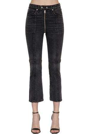RAG&BONE Iver High Rise Zipped Flared Denim Jeans