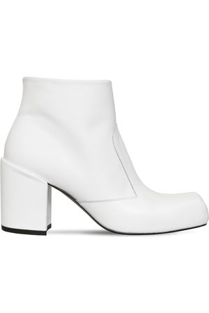 AALTO 70mm Leather Ankle Boots
