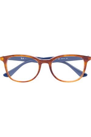 Ray-Ban Two-tone squared glasses