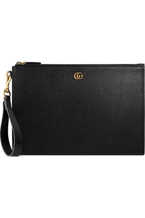 Gucci GG Marmont leather pouch