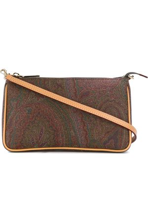 Etro Women Shoulder Bags - Paisley print shoulder bag
